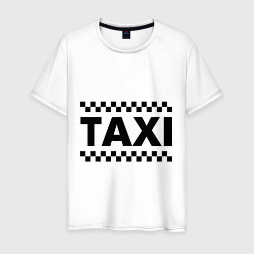 Мужская футболка хлопок Taxi