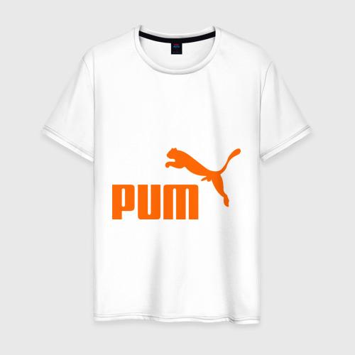 Мужская футболка хлопок PUM (1)
