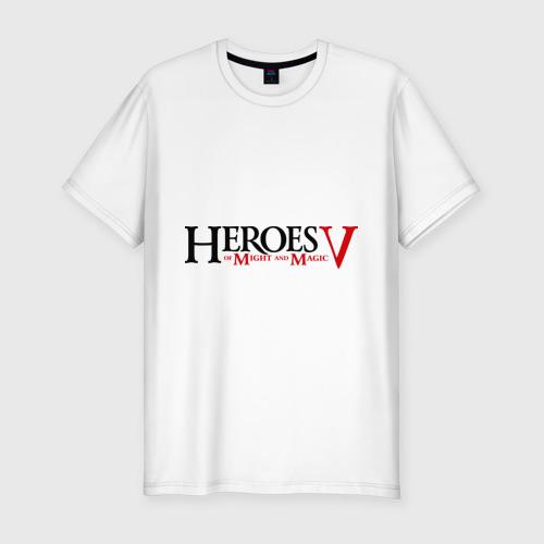 Мужская футболка хлопок Slim Heroes V