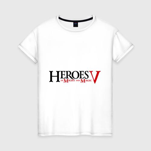 Женская футболка хлопок Heroes V