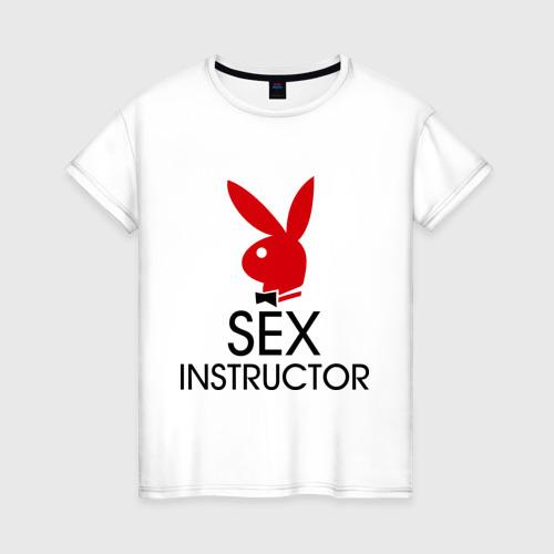 Женская футболка хлопок Sex Instructor
