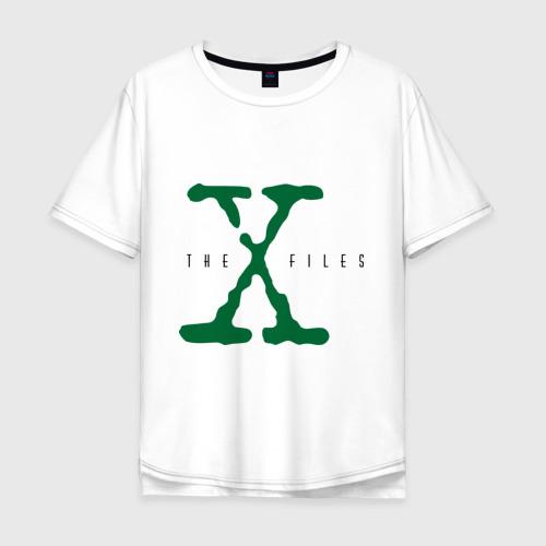 Мужская футболка хлопок Oversize X files