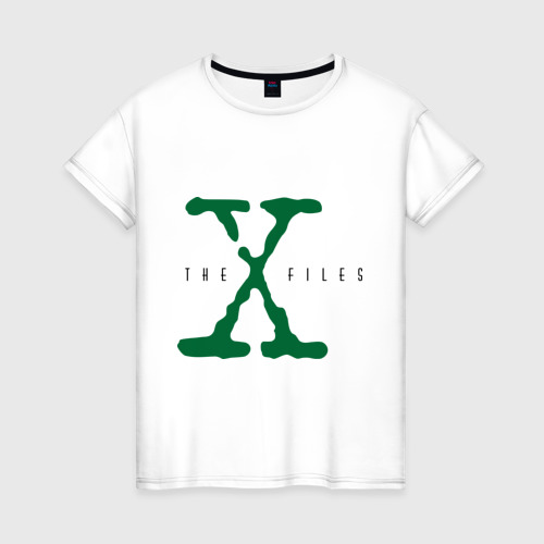 Женская футболка хлопок X files
