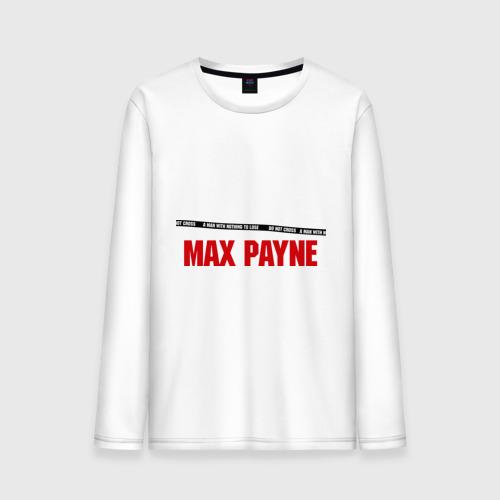 Мужской лонгслив хлопок Max Payne