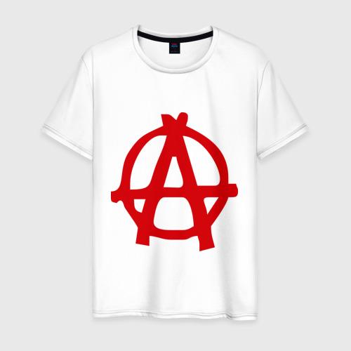 Мужская футболка хлопок Анархия