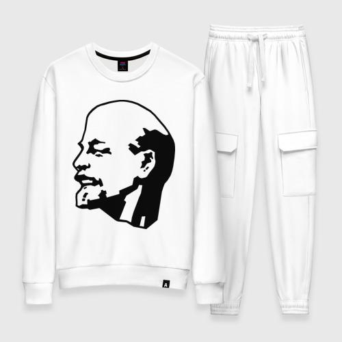 Женский костюм хлопок Ленин