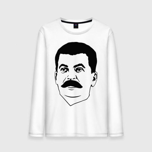 Мужской лонгслив хлопок Сталин