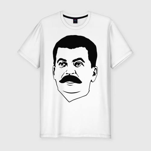 Мужская футболка хлопок Slim Сталин