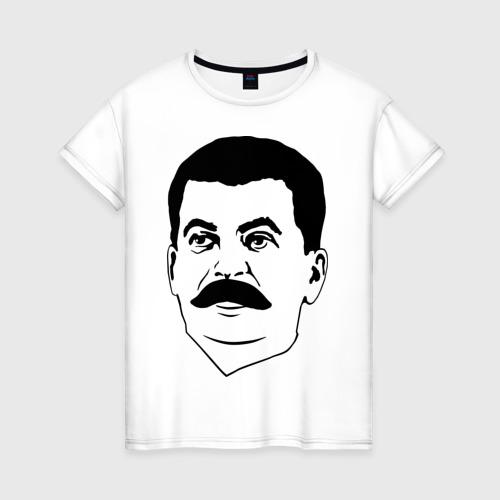 Женская футболка хлопок Сталин