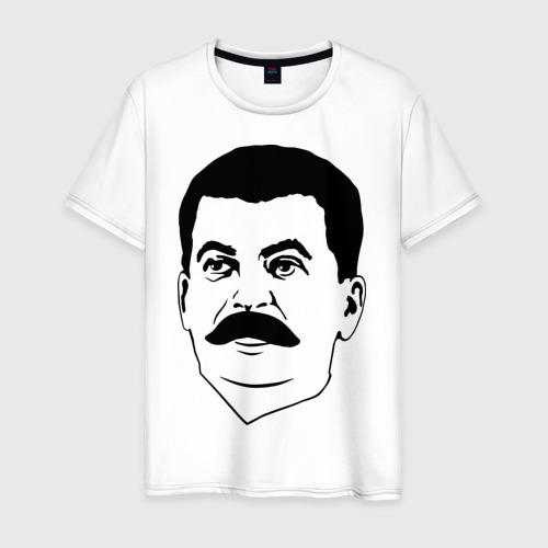 Мужская футболка хлопок Сталин