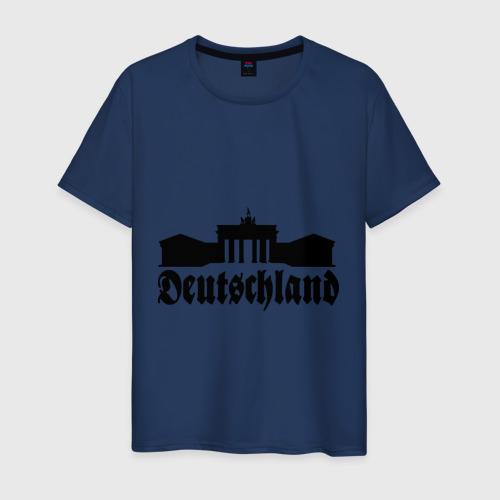 Мужская футболка хлопок Deutschland