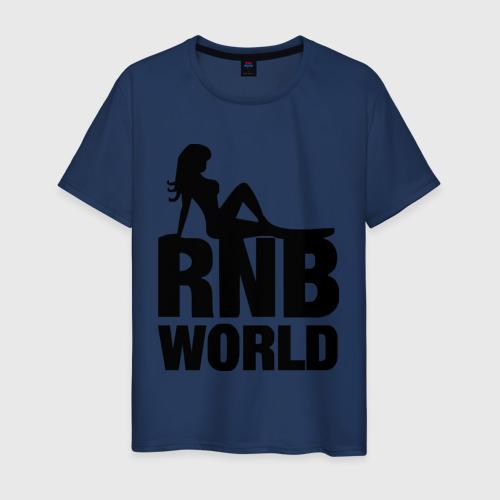 Мужская футболка хлопок RNB World