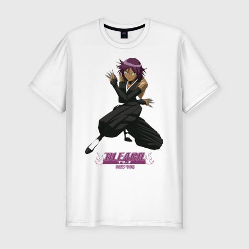 Мужская футболка хлопок Slim Bleach (3)