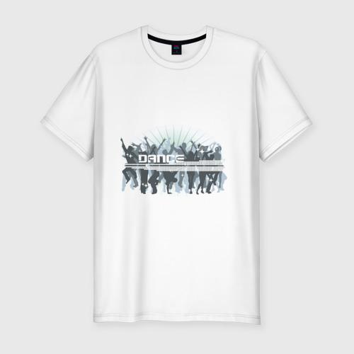Мужская футболка хлопок Slim Dance (2)