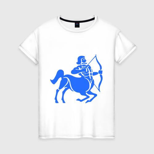 Женская футболка хлопок Стрелец  (2)