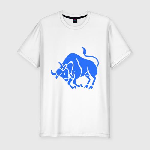 Мужская футболка хлопок Slim Телец (3)