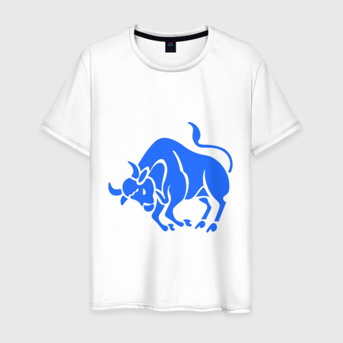 Мужская футболка хлопок Телец (3)