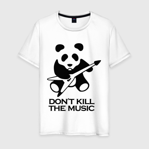 Мужская футболка хлопок Don't Kill The Music