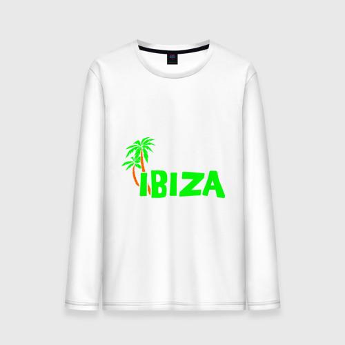 Мужской лонгслив хлопок Ibiza