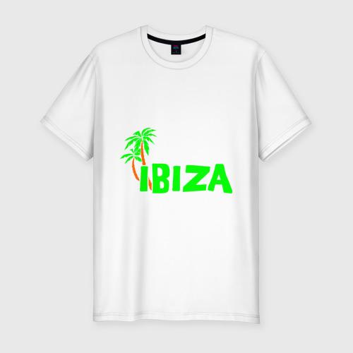 Мужская футболка хлопок Slim Ibiza