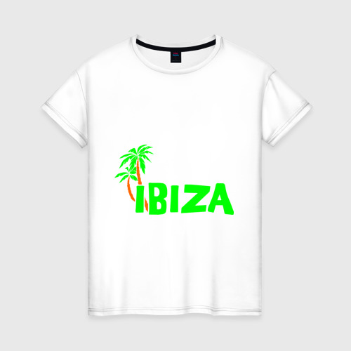 Женская футболка хлопок Ibiza