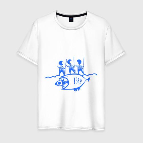 Мужская футболка хлопок Рыбалка (2)