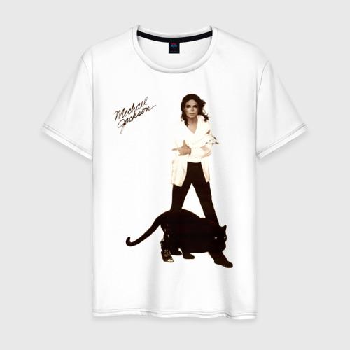 Мужская футболка хлопок Michael Jackson (2)