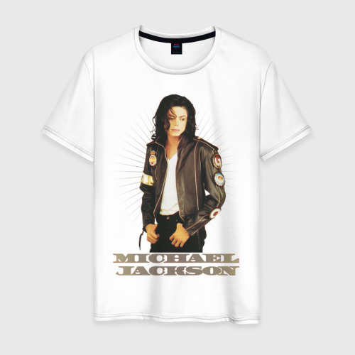 Мужская футболка хлопок Michael Jackson (4)