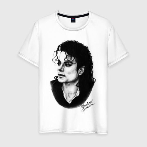 Мужская футболка хлопок Michael Jackson (6)