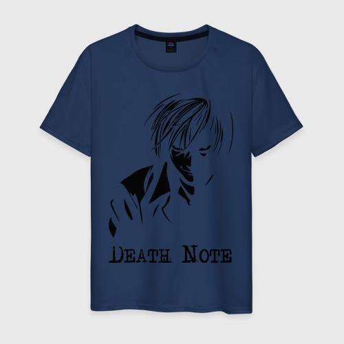 Мужская футболка хлопок Death note