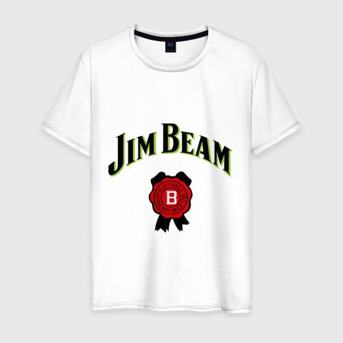 Мужская футболка хлопок Jim Beam