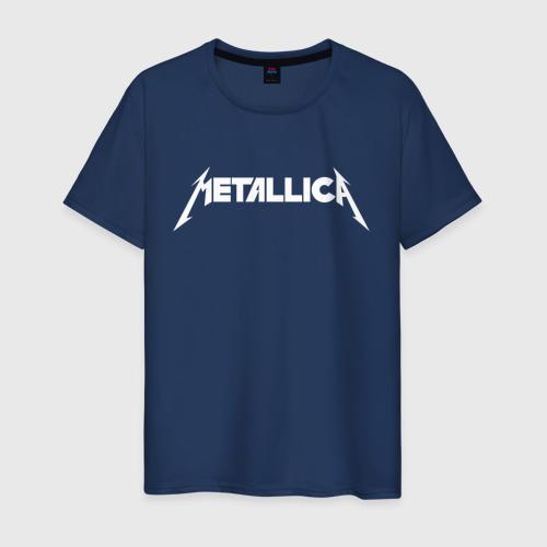 Мужская футболка хлопок Metallica