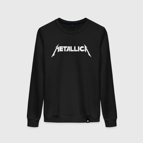 Женский свитшот хлопок Metallica