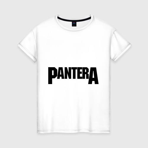 Женская футболка хлопок Pantera