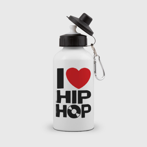 Бутылка спортивная I love Hip Hop