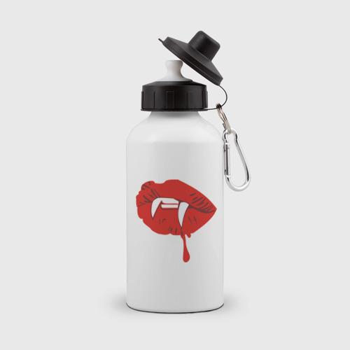 Бутылка спортивная Губы вампира