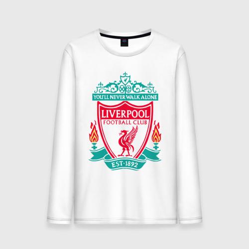 Мужской лонгслив хлопок Liverpool