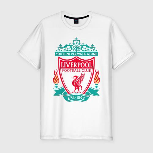 Мужская футболка хлопок Slim Liverpool