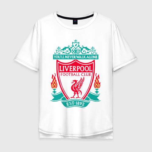 Мужская футболка хлопок Oversize Liverpool