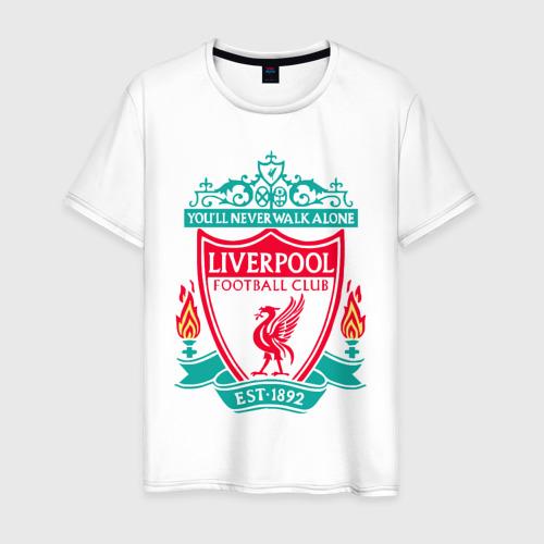 Мужская футболка хлопок Liverpool