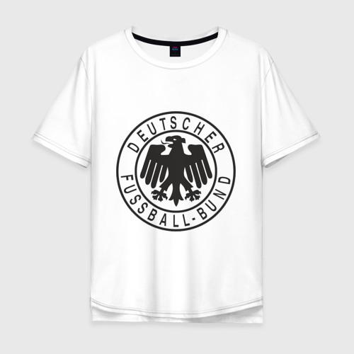 Мужская футболка хлопок Oversize Германия
