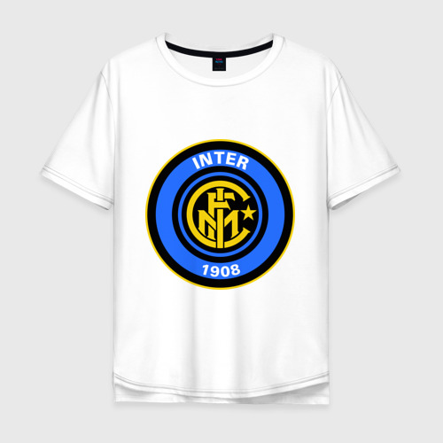 Мужская футболка хлопок Oversize Iinter