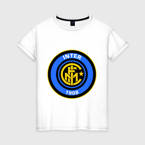 Женская футболка хлопок Iinter