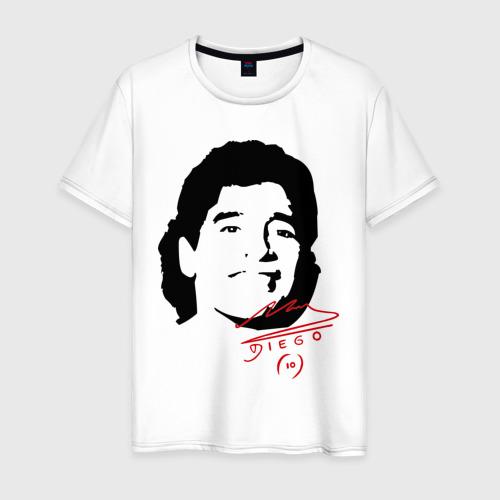 Мужская футболка хлопок Diego Maradona