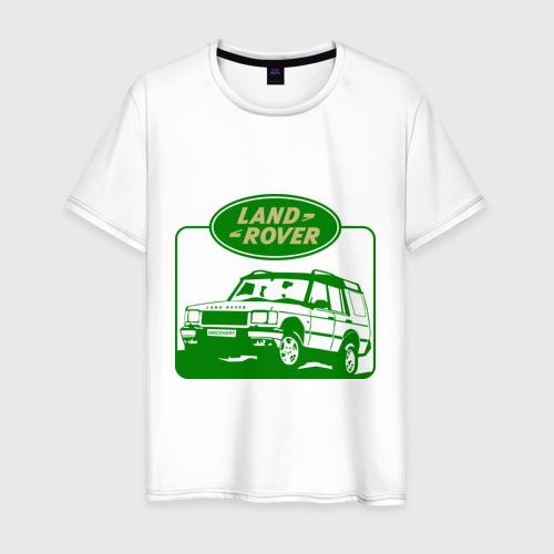 Мужская футболка хлопок Land Rover