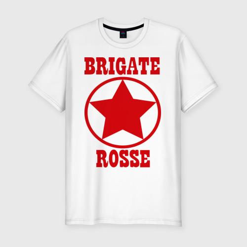 Мужская футболка хлопок Slim Brigate rosse (2)