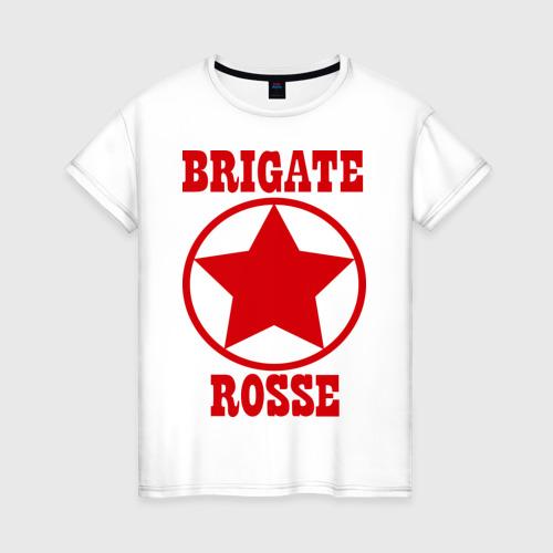 Женская футболка хлопок Brigate rosse (2)