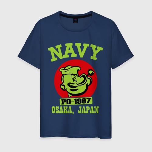 Мужская футболка хлопок Моряк Попай