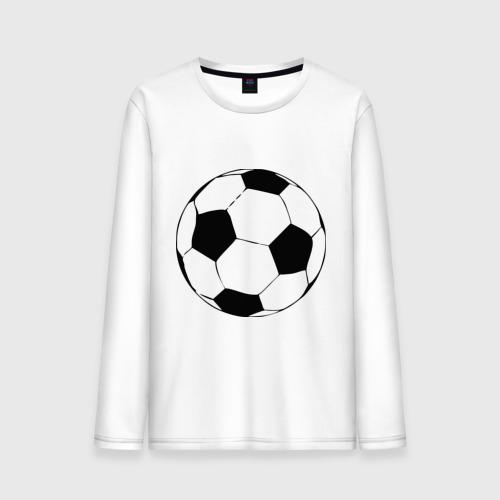 Мужской лонгслив хлопок Футбольный мяч