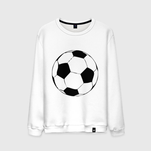 Мужской свитшот хлопок Футбольный мяч